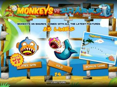 Monkeys VS Sharks - World Match